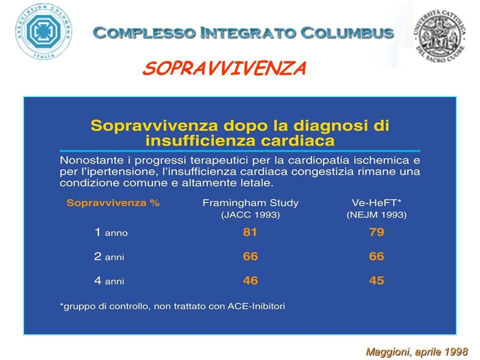 Cleland JGF Heart August 2008 Vol 94;8 Mortalità a 2 aa nei pazienti con Scompenso Cardiaco nei recenti trials clinici