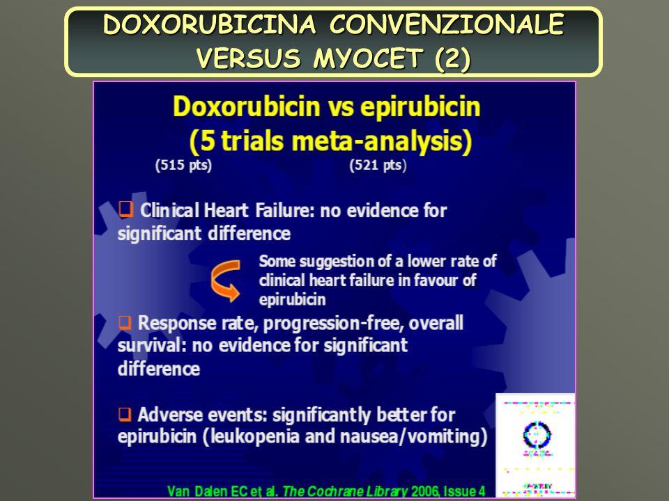 DOXORUBICINA CONVENZIONALE VERSUS MYOCET (2)