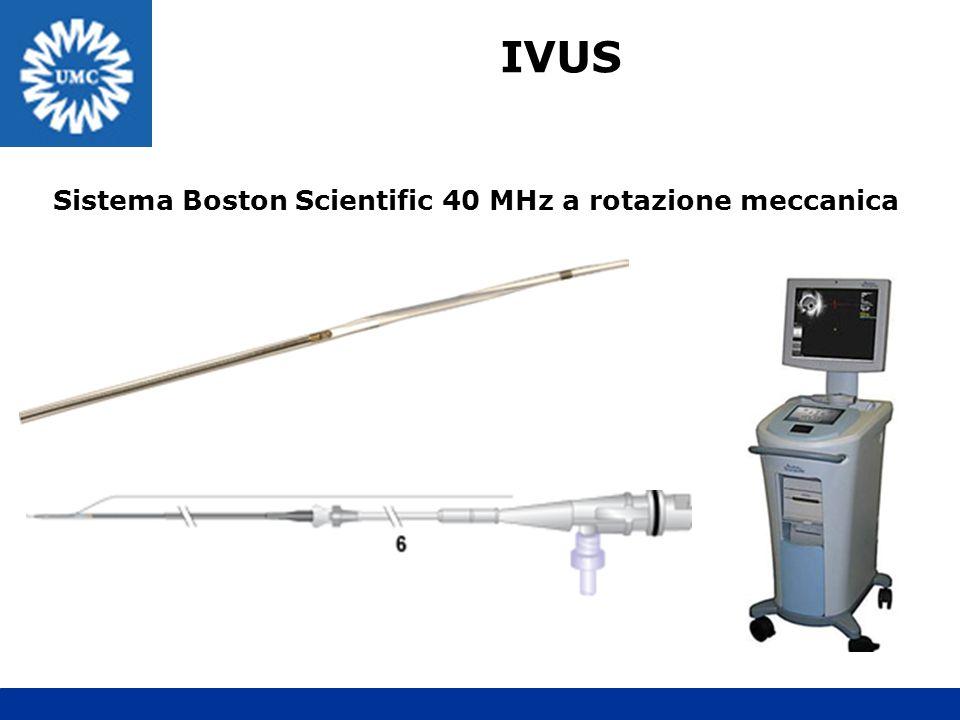 IVUS Sistema Boston Scientific 40 MHz a rotazione meccanica
