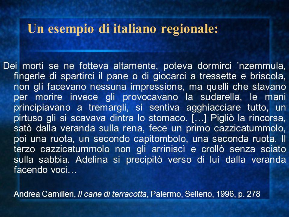 L italiano burocratico Particolare variet à dell italiano contemporaneo (prossima allo standard)