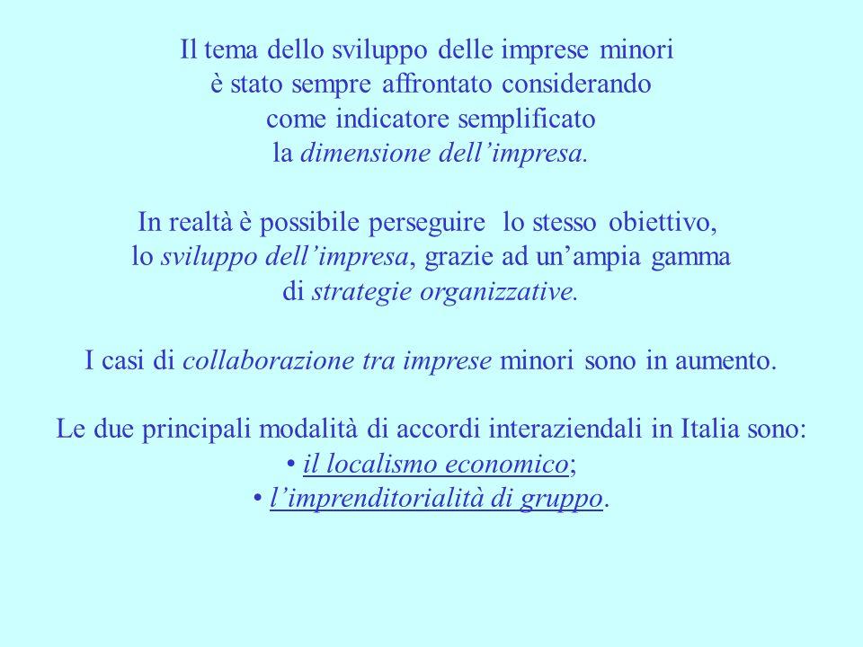 3 LOCALISMO ECONOMICO E concepito come la risultante di una lettura interdisciplinare delleconomia italiana, in cui rientrano considerazioni di tipo socio-economico, sociologico, storico e più strettamente culturale.