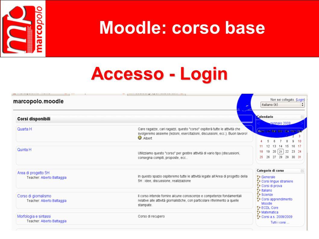 Marco Polo – Corso Base Moodle – 22 gennaio 2009 Flavio Filini (www.filini.org) Moodle: corso base I Ruoli I permessi legati ai ruoli possono essere modificati anche a livelo di blocchi (es.