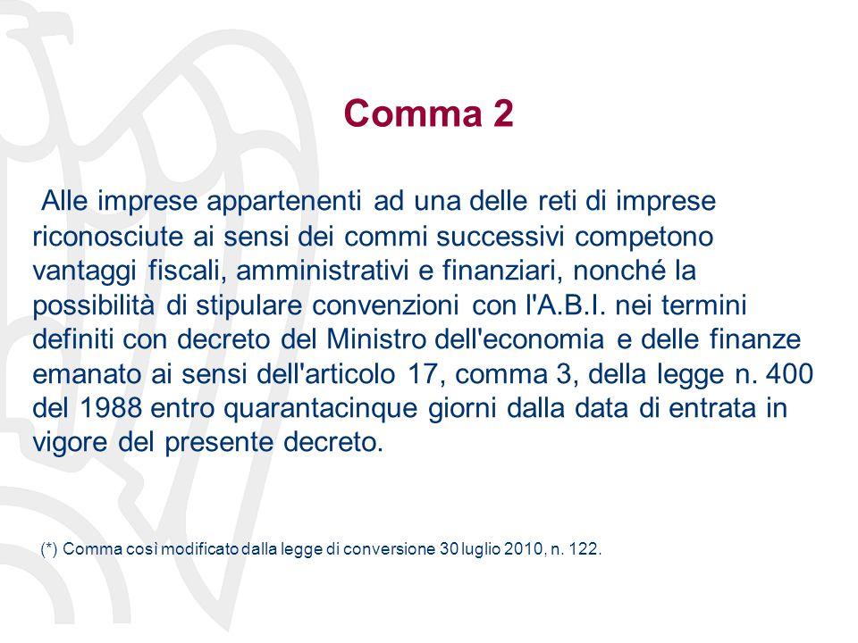 Comma 2-bis (segue) Il comma 4-ter dell articolo 3 del decreto-legge 10 febbraio 2009, n.