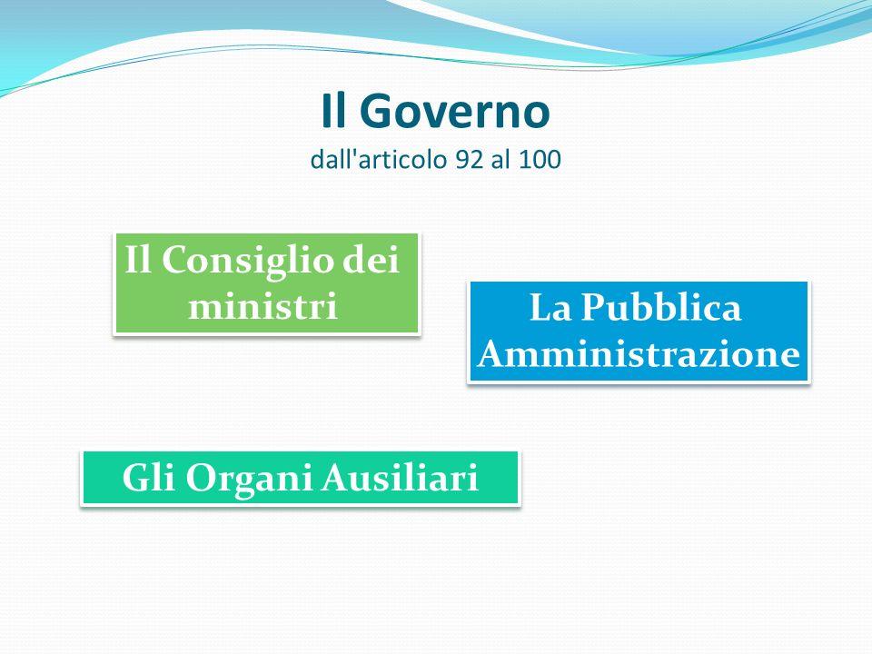 Il Presidente della Repubblica dall'articolo 83 al 91 Modalità di elezione I poteri e le responsabilità I poteri e le responsabilità Garanzia dell'equ