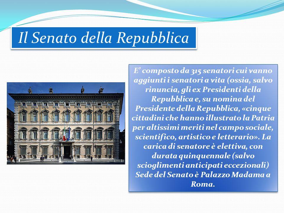 GLI ORGANI ISTITUZIONALI IL PARLAMENTO IL PARLAMENTO Il Parlamento della Repubblica italiana è l'organo costituzionale titolare della funzione legisla