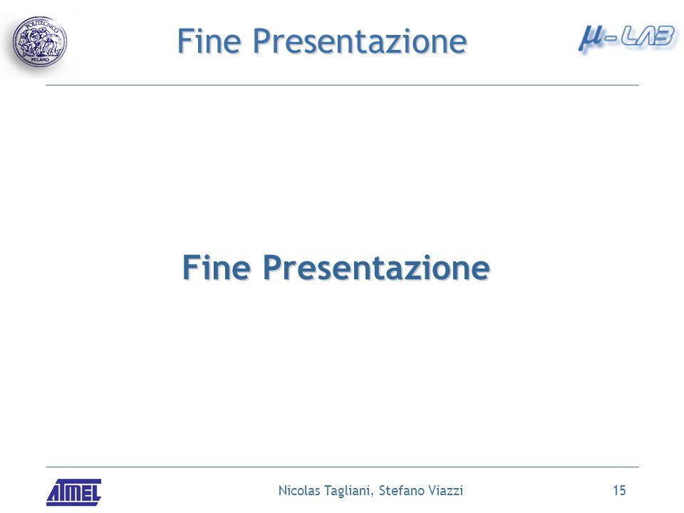 Nicolas Tagliani, Stefano Viazzi15 Fine Presentazione