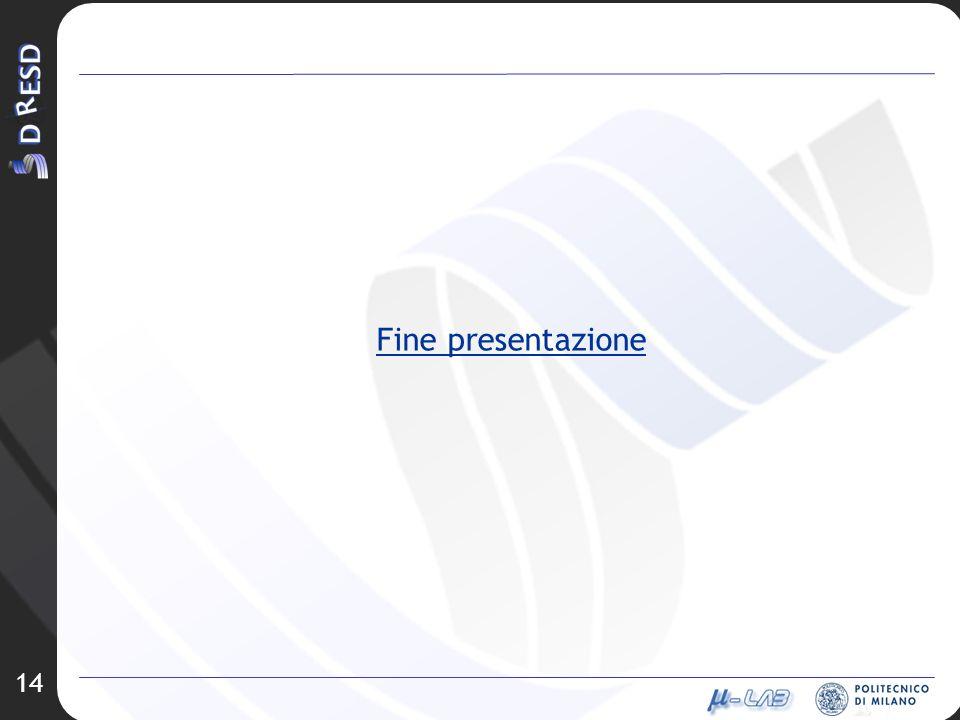 14 Fine presentazione