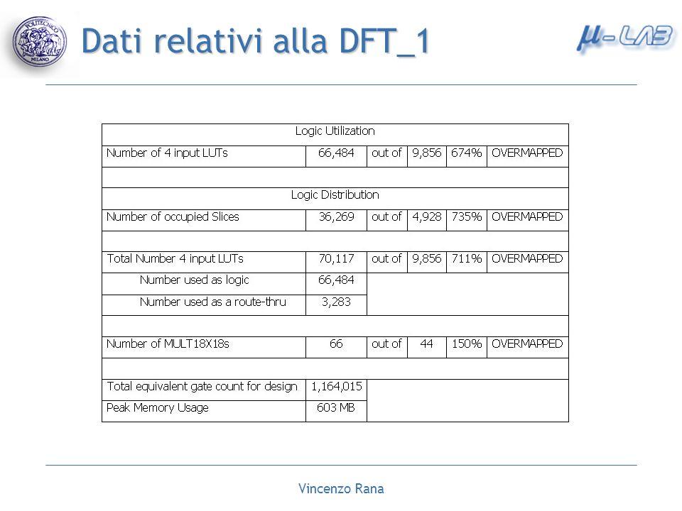 Vincenzo Rana Dati relativi alla DFT_1