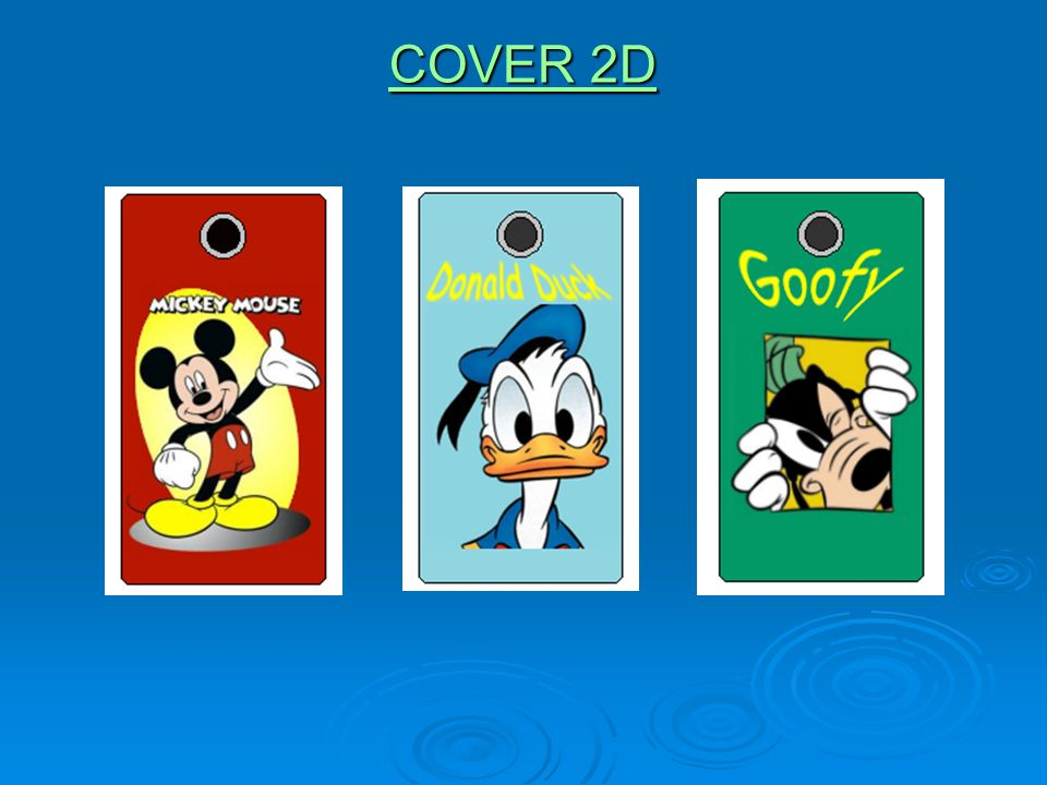 COVER 2D COVER 2D