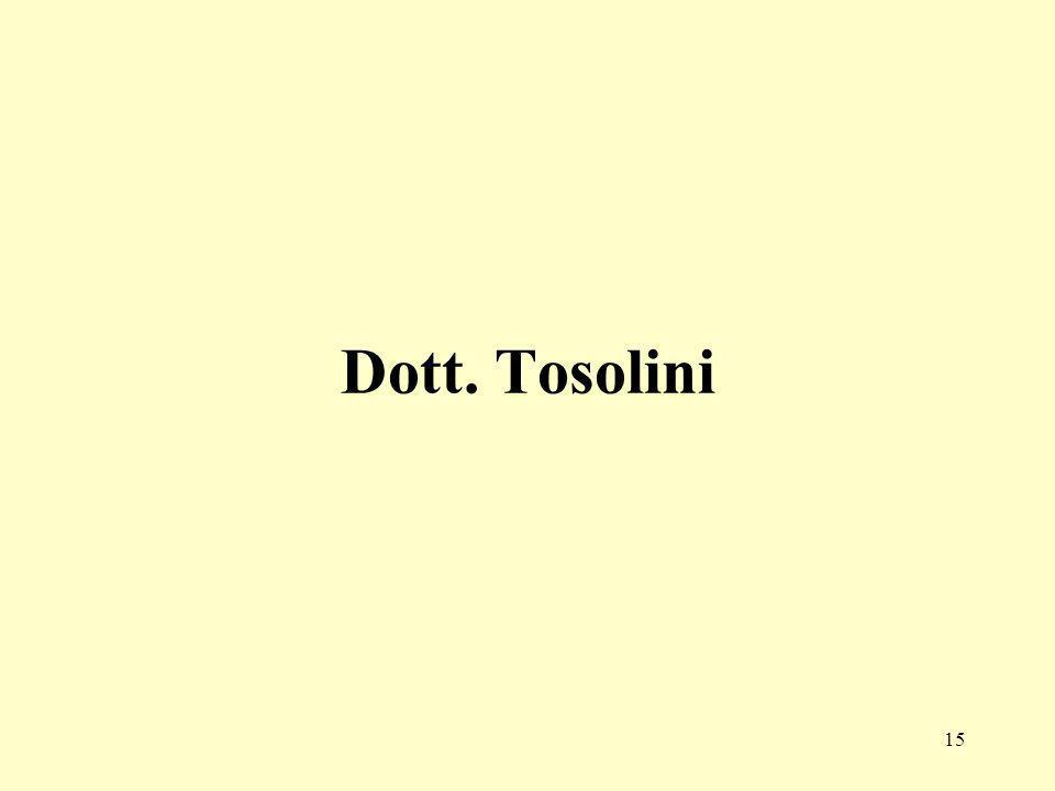 15 Dott. Tosolini