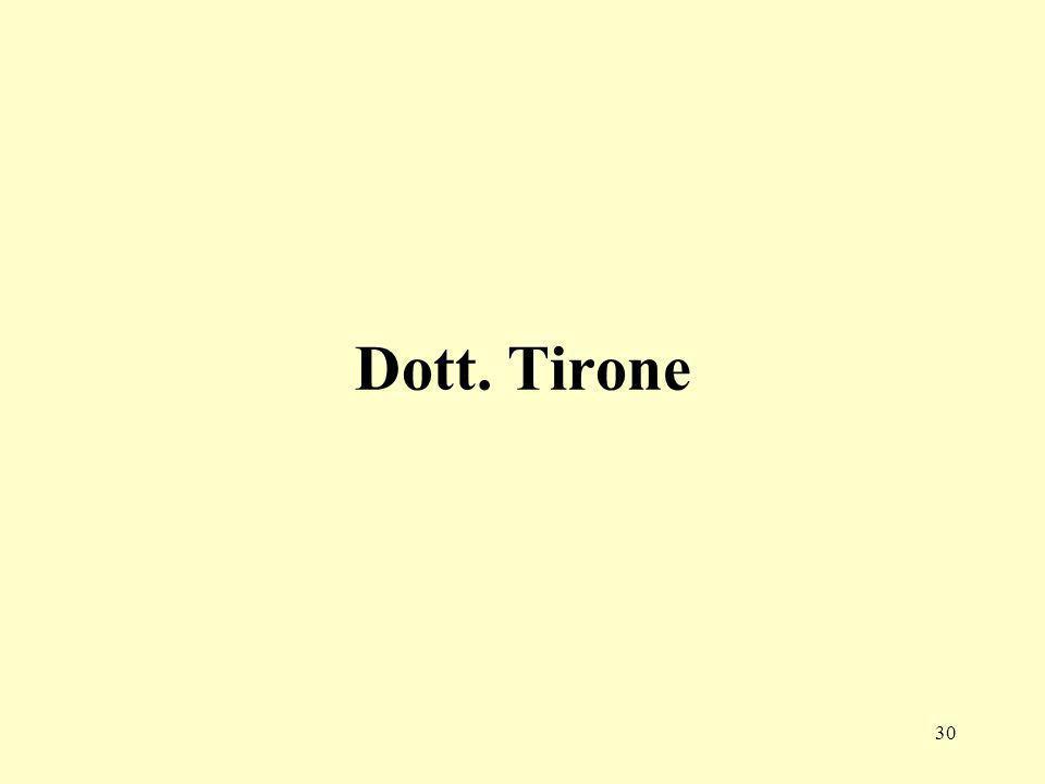 30 Dott. Tirone