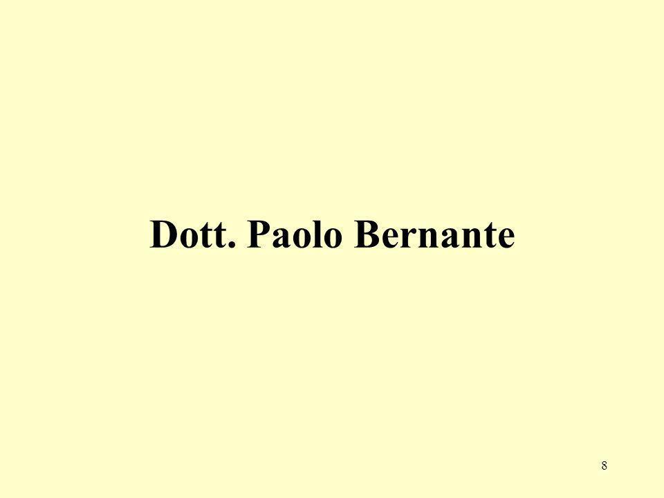 8 Dott. Paolo Bernante