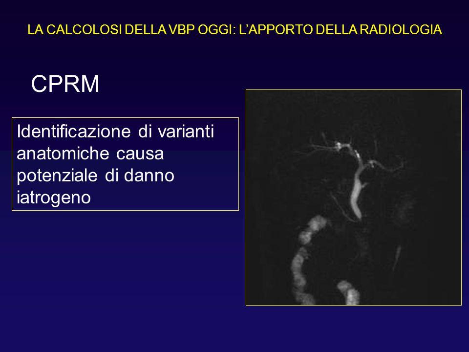 Identificazione di varianti anatomiche causa potenziale di danno iatrogeno CPRM