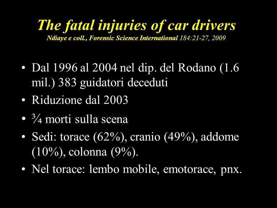 16 Trattamento preospedaliero Probst e coll.- Hannover - Injury 2009 Jan;40(1):77-83.