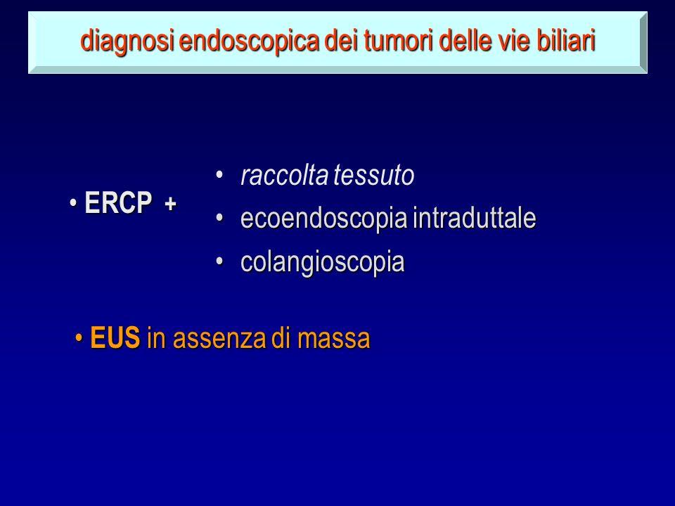 raccolta tessuto ecoendoscopia intraduttaleecoendoscopia intraduttale colangioscopiacolangioscopia diagnosi endoscopica dei tumori delle vie biliari E