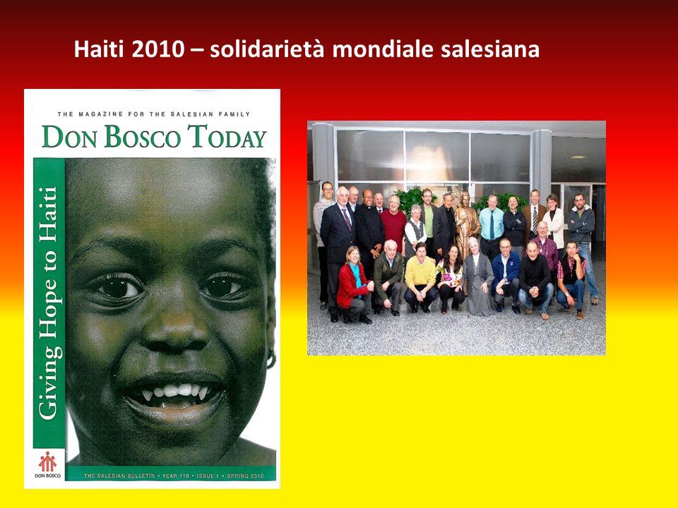 Haiti 2010 – solidarietà mondiale salesiana