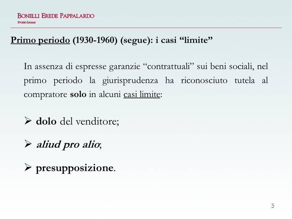 6 Nel secondo periodo, la prassi acquista progressiva consapevolezza dellinapplicabilità delle garanzie legali al patrimonio sociale: i primi casi di contratti contenentibusiness warranties.