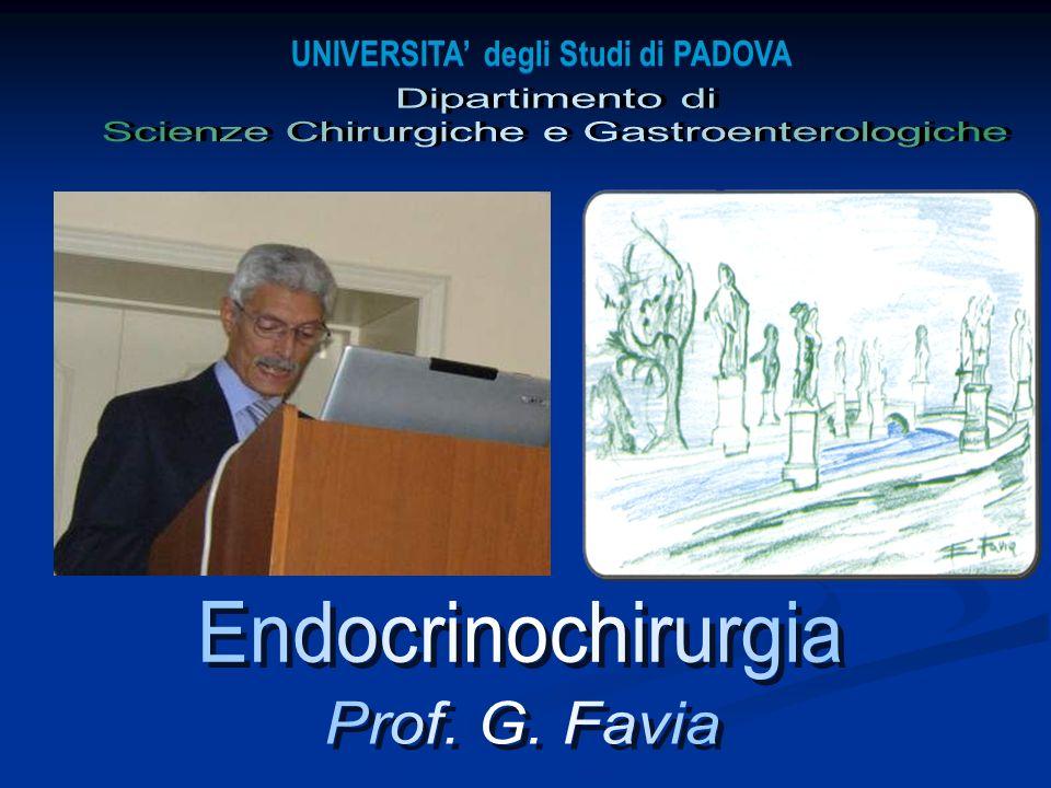 Soc. Triveneta di Chirurgia Grado 2007 I TUMORI NEUROENDOCRINI GASTRO-DUODENALI