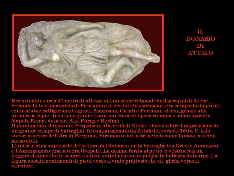 Era situato a circa 40 metri di altezza sul muro meridionale dellacropoli di Atene. Secondo la testimonianza di Pausania e le recenti ricostruzioni, e