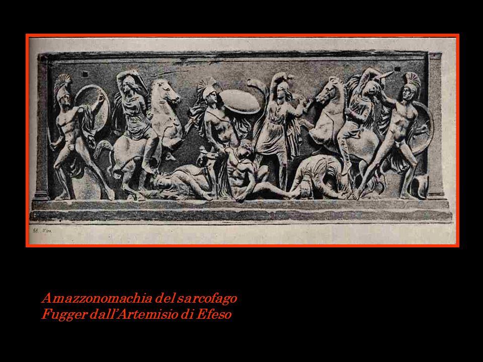 Amazzonomachia del sarcofago Fugger dallArtemisio di Efeso