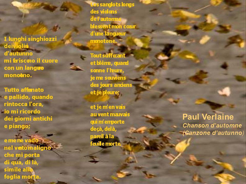 Paul Verlaine Chanson dautomne (Canzone dautunno)