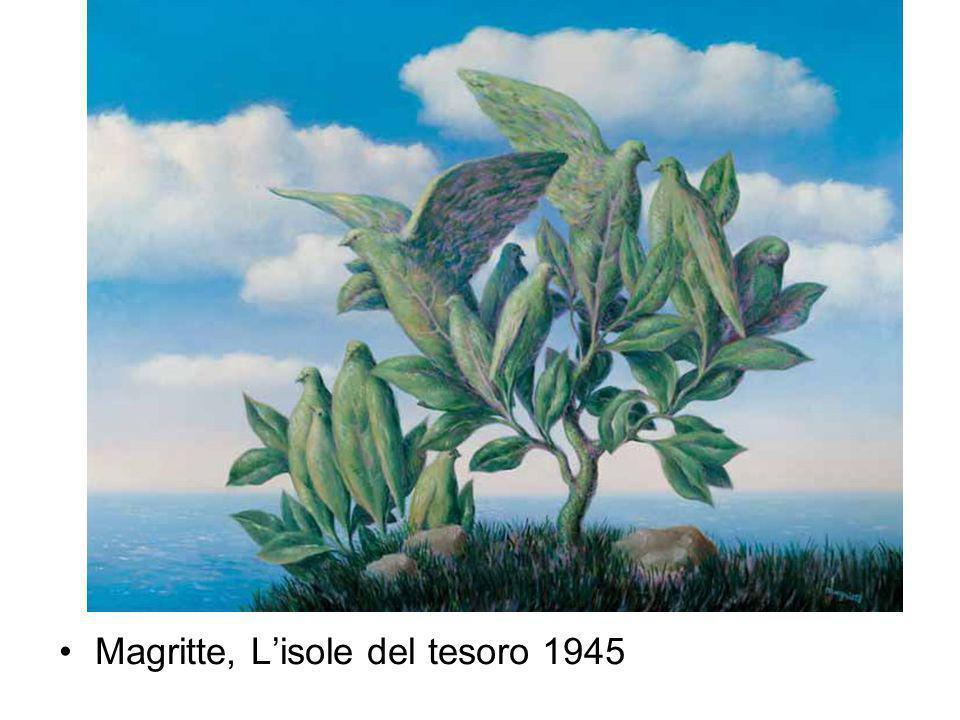 Magritte, Lisole del tesoro 1945