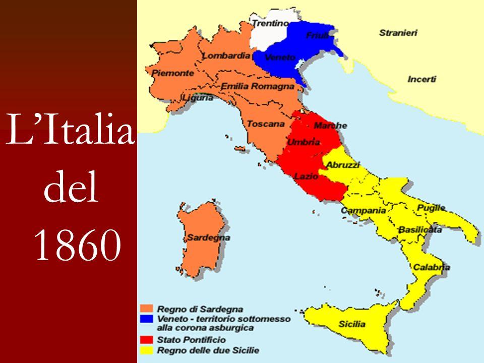La ricerca del casus belli Autonomismo siciliano I mazziniani Mille Volontari