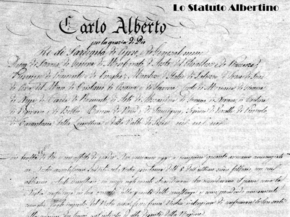 Centanni di Statuto Albertino Lo Statuto Albertino: dalla rigidità alla flessibilità Dal regno di Sardegna al regno dItalia Gli anni del fascismo