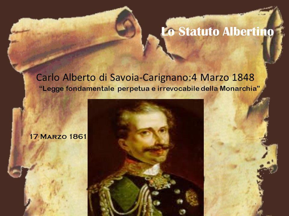 Statuto Albertino VS Costituzione Italiana Art.2.