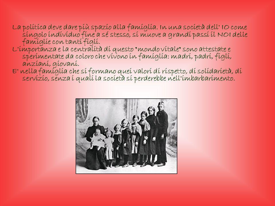Sulla base di questo articolo sono nate in Italia varie associazioni per la salvaguardia delle famiglie numerose, la più importante di queste è LAssoc