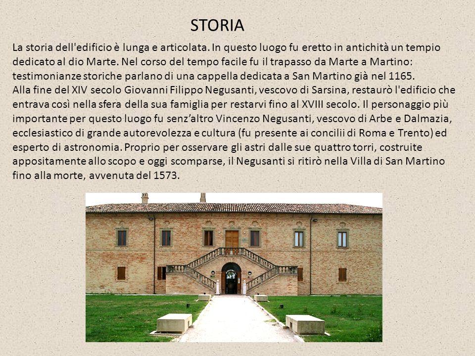 Nel 1839 l edificio passò a Massimiliano di Leuchtenberg e poi, nel 1852, divenne i proprietà dei Gesuiti di Fano, che la utilizzarono come luogo di villeggiatura per i collegianti.