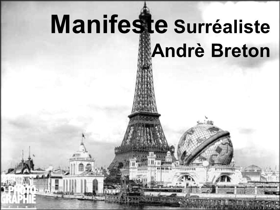 Manifeste Surréaliste Andrè Breton