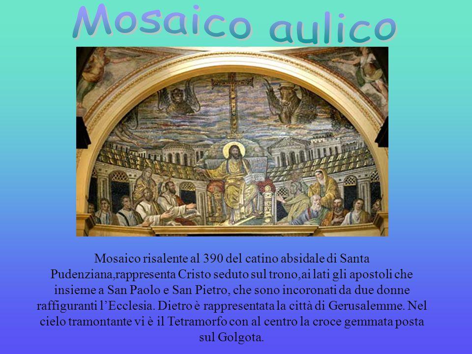 I mosaici si distinguono in: aulici e plebei. I mosaici aulici utilizzavano la prospettiva, ombre e immagini comprensibili solo per persone colte. I m