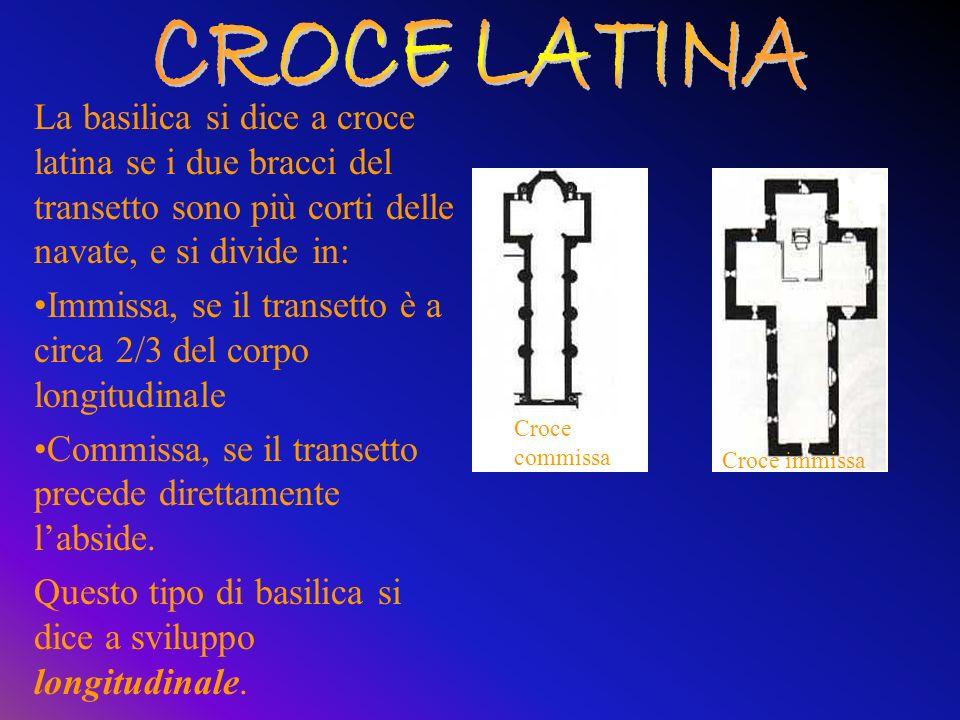 QUADRIPORTICO : spazio di forma pressoché rettangolare che precede la basilica avente un porticato posto su tutti i lati. NARTECE: porzione di portica