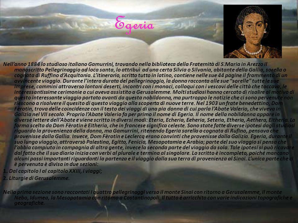 Ac sic ergo et ibi gratias Deo agentes iuxta consuetudinem perexivimus iter nostrum.
