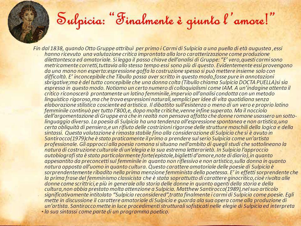 Elegia 3.13 Tandem venit amor, qualem texisse pudori Quam nudasse alicui sit mihi fama magis.