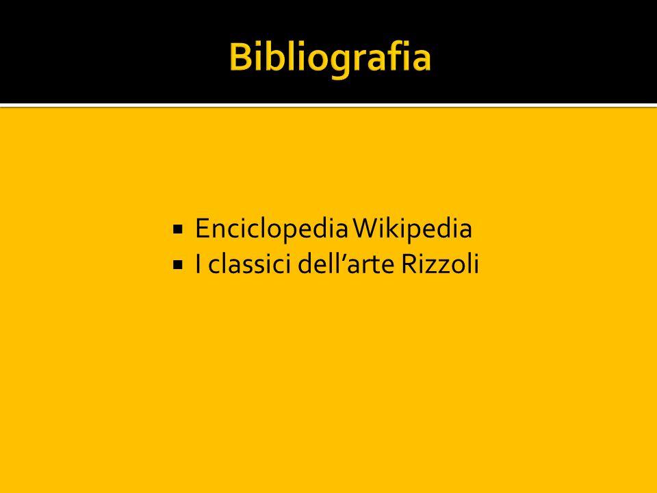 Enciclopedia Wikipedia I classici dellarte Rizzoli