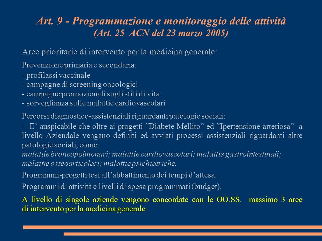 Art.10 - Equipes territoriali ed UTAP (Art.