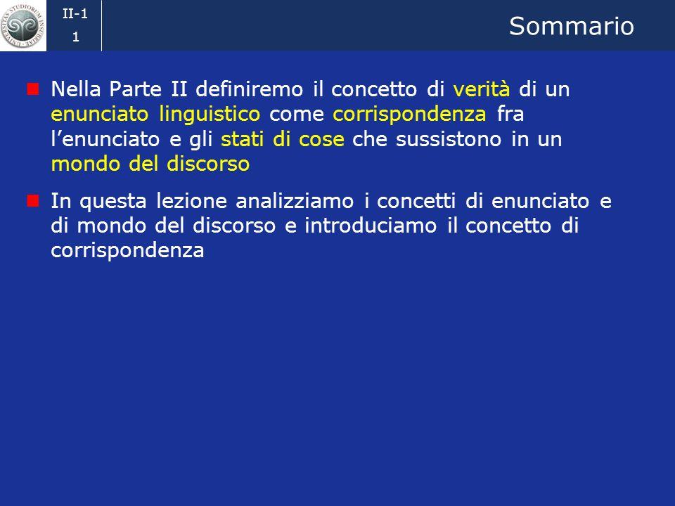 Ingegneria della conoscenza 2008-09 Emanuele Della Valle Scienze e Tecniche Della Comunicazione 1. Enunciati, mondi del discorso e verità Credits: Pro