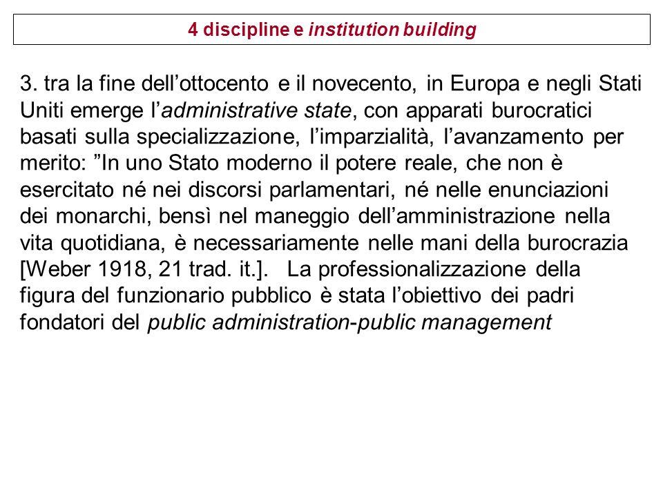 4 discipline e institution building 4.