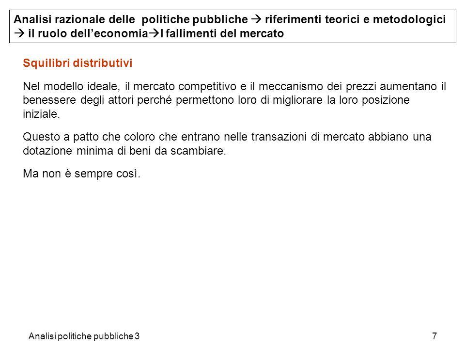 Analisi politiche pubbliche 328 4.