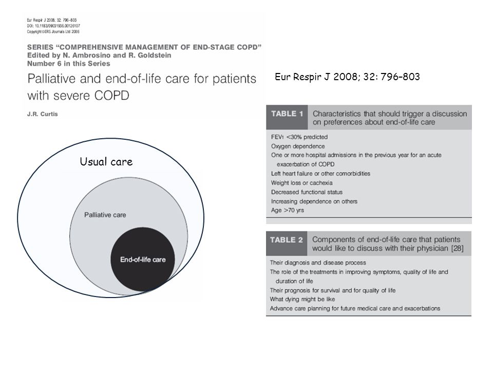 STATEMENT 3 Lavvio delle cure palliative può avvenire in tempi diversi in base al tipo di traiettoria evolutiva della malattia.