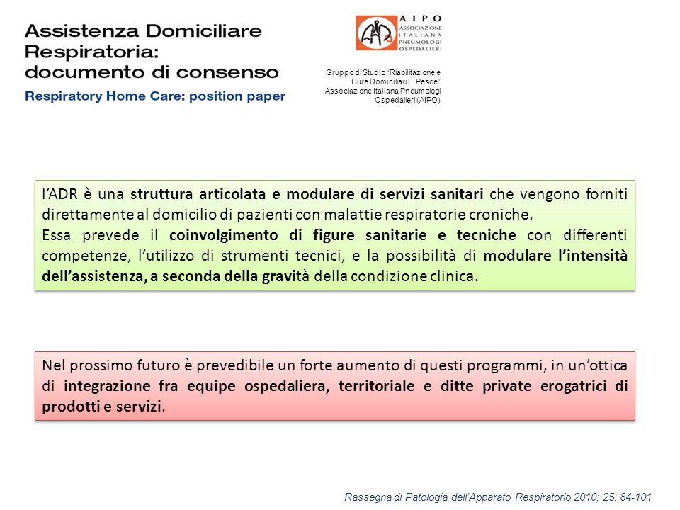 Gruppo di Studio Riabilitazione e Cure Domiciliari L.