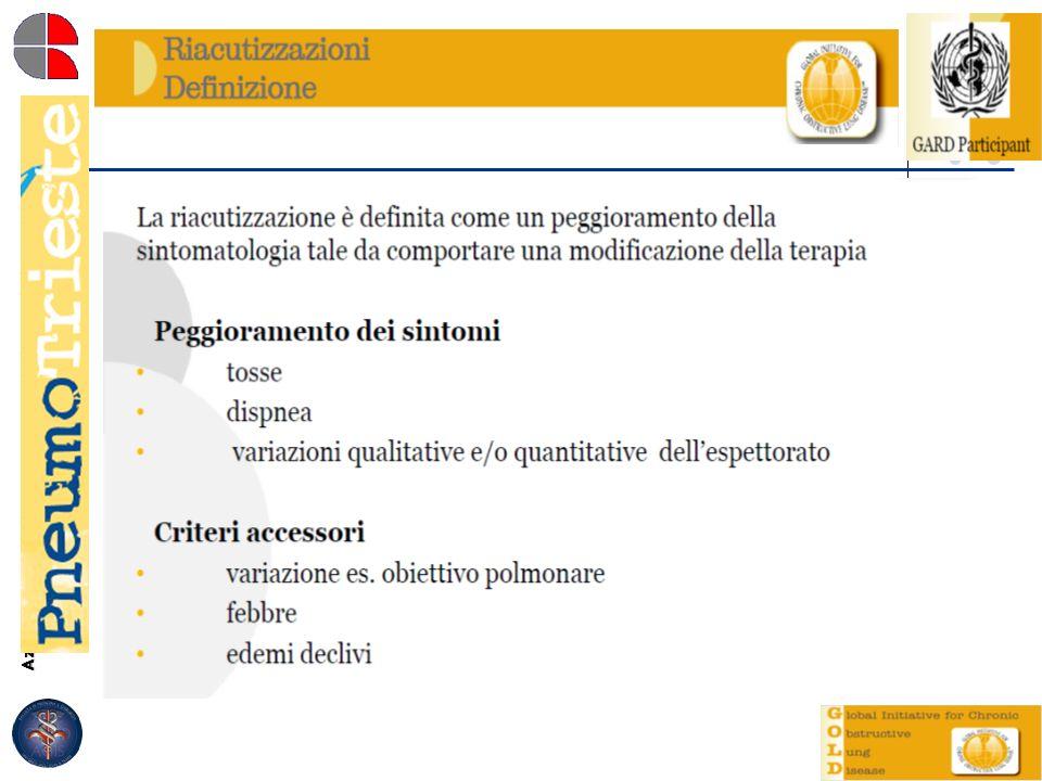 Azienda Ospedaliero-Universitaria Ospedali Riuniti di Trieste Struttura Complessa di Pneumologia Direttore: Dott. Marco Confalonieri DEFINITION OF AEC