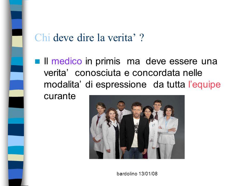 bardolino 13/01/08 Quando dire la verita.
