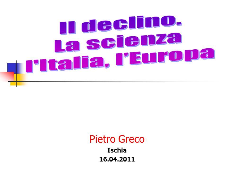 Pietro Greco Ischia 16.04.2011