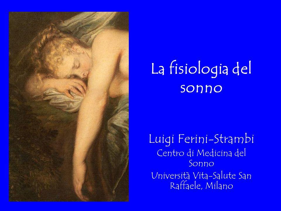 La fisiologia del sonno Luigi Ferini-Strambi Centro di Medicina del Sonno Università Vita-Salute San Raffaele, Milano