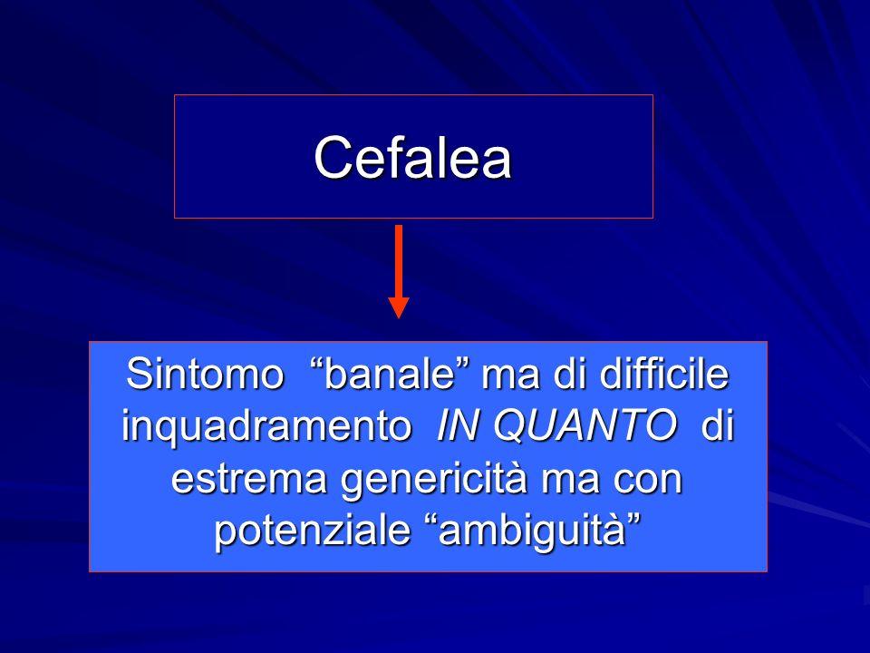 Equivalenti Emicranici Vomito o dolori addominali periodici Cinetopatie Dolori articolari Parasonnie ( es.