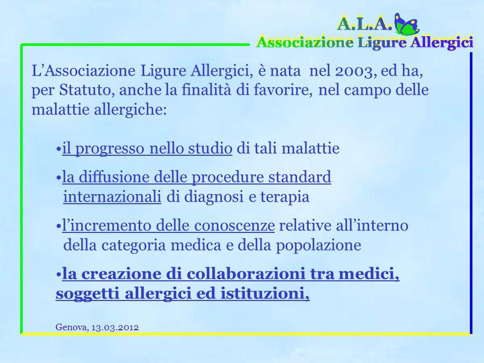 Per chi vuol fare di più: Avete mai pensato che potreste suggerire ai vostri conoscenti allergici di iscriversi ad A.L.A.
