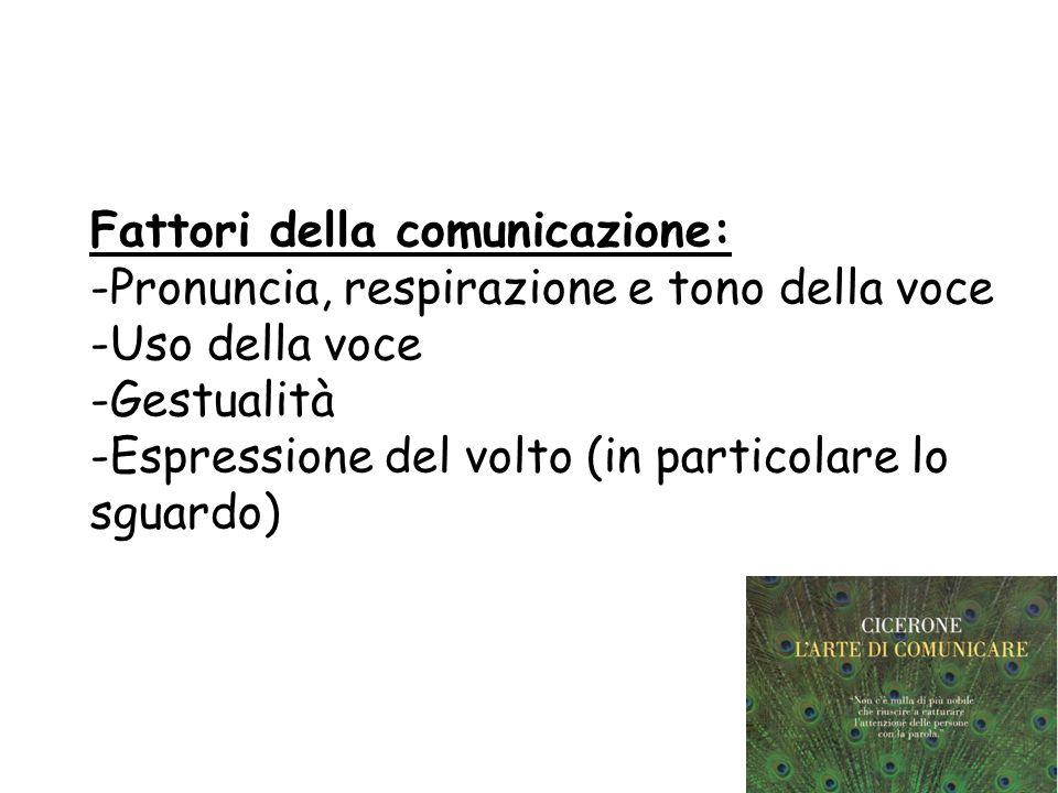 Requisiti per la comunicazione: CAPACITA COMUNICATIVA: -Movimenti del corpo -Gesti -Espressione del volto -Controllo e modulazione della voce